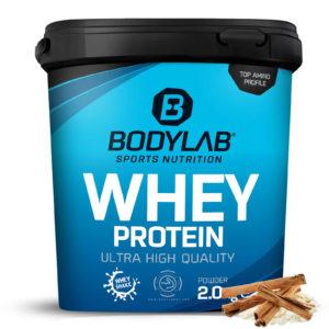 Bodylab Whey Protein 2kg Milchreis Zimt